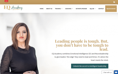 CASE STUDY: Website copy and rebranding for EQ coach